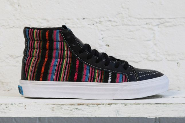 Dqm Vans Womens Winter Collection Sk8 Slim Profile 1