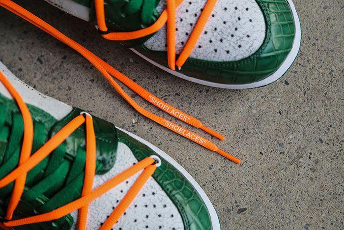 Ceeze Air Jordan 1 Custom Pine Green Off White Hero Shot2