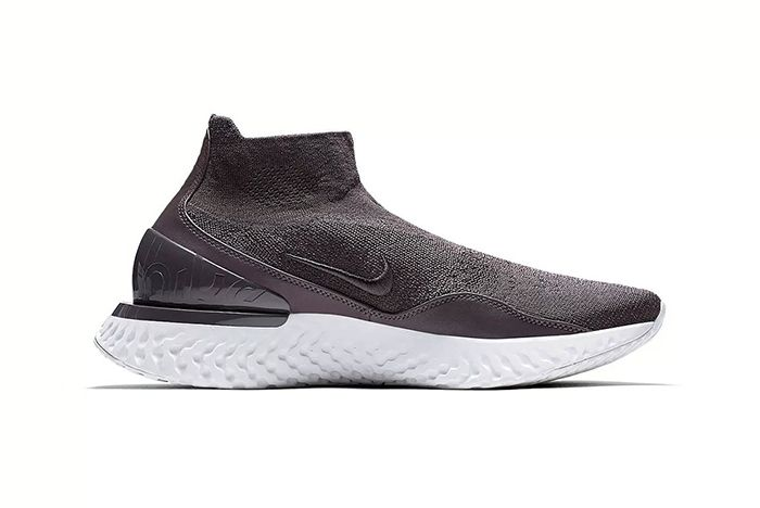 Nike Rise React Flyknit Thunder Grey 2