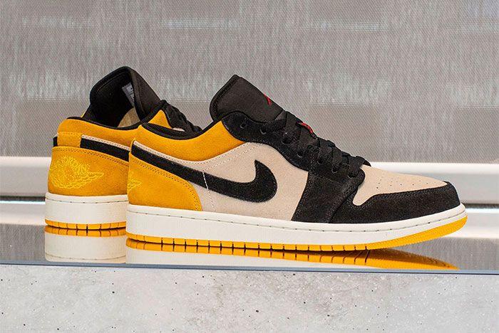Jordan 1 Yellow Low 3