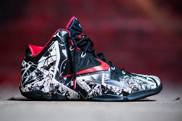 Nike Lebron 11 Grafitti Feature