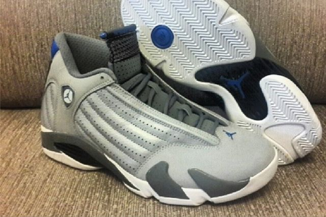 Air Jordan Sport Blue 14 Side