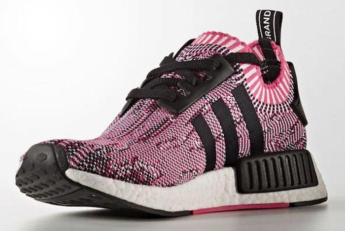 Adidas Nmd Ra Primeknit Pink Rose Black White 6