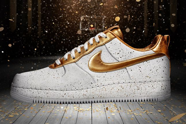 Nike Sportswear Af1 Xxx Gold Speckle Hero 1