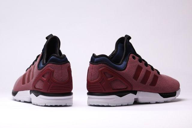 Adidas Zx Flux Nps Core Burgundy 3