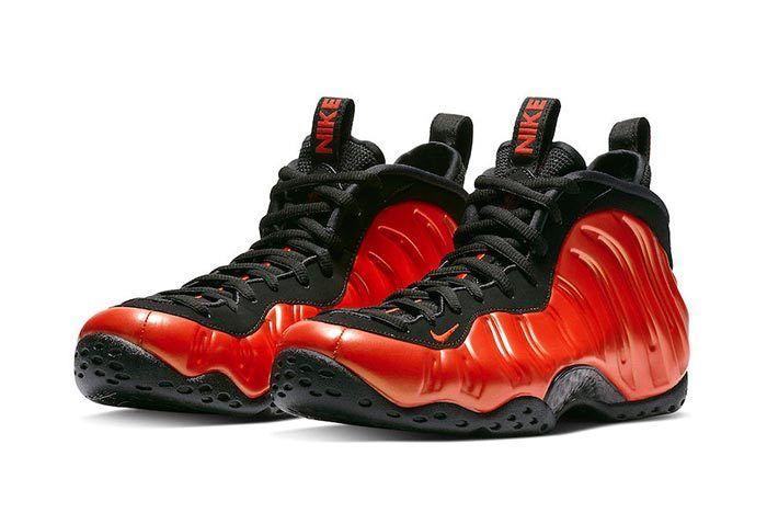 Nike Foamposite Habanero Red 2