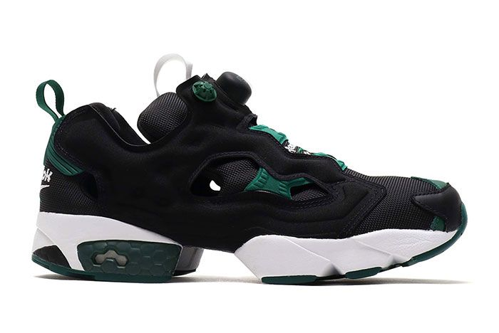 Reebok Instapump Fury 25Th Anniversary Black Green Right