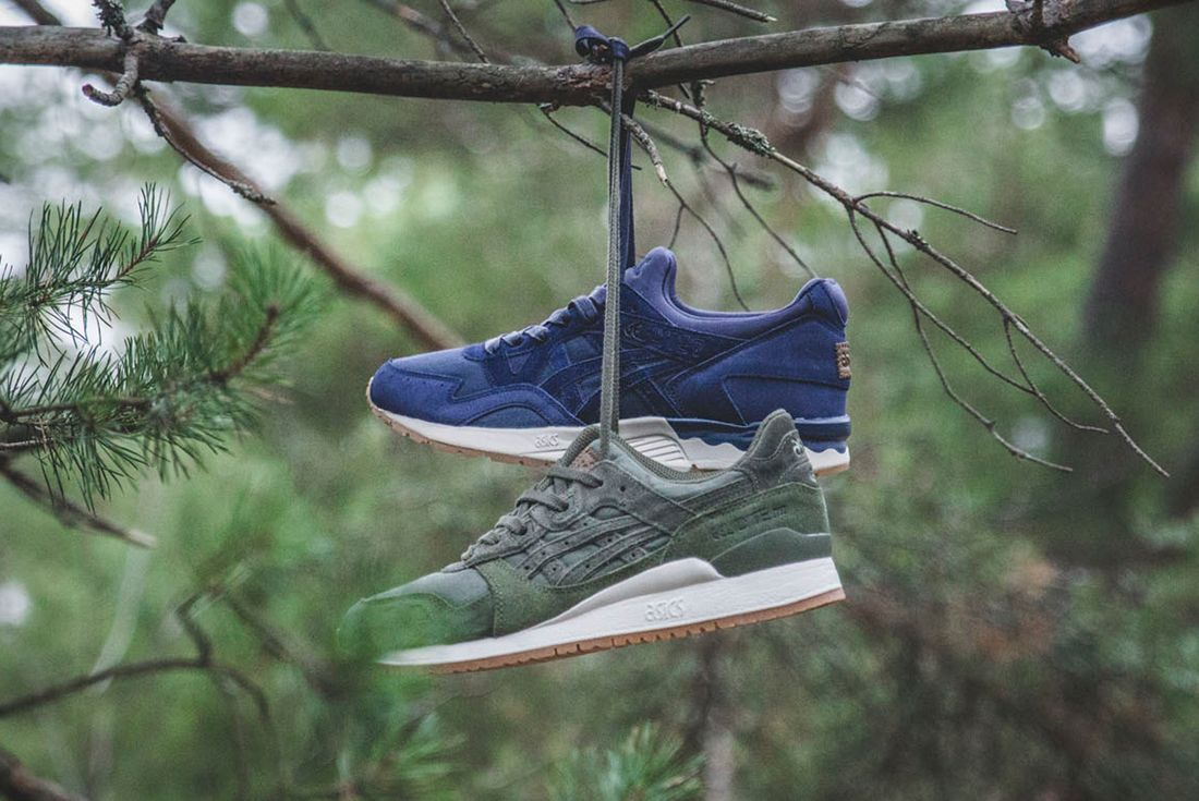 Sneakersnstuff X Asics Forest Pack2