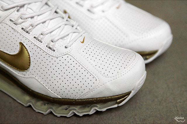 Nike Air Max 2013 Ext Leather Qs Metallic Gold 1