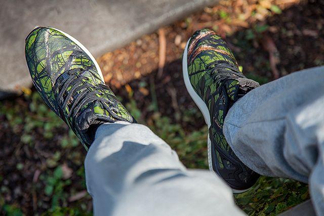 Adidas Zx Flux Forest Print