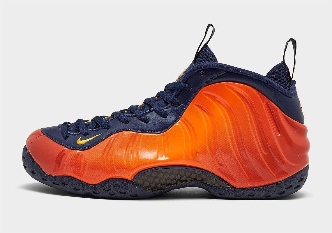 Nike Air Foamposite One Rugged Orange Left