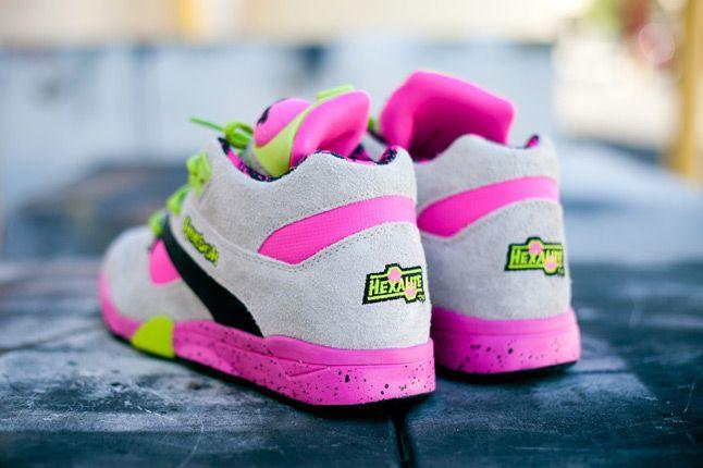 Reebok Omni Lite Pump Grey Feature Sneaker Boutique Heels Quater 1