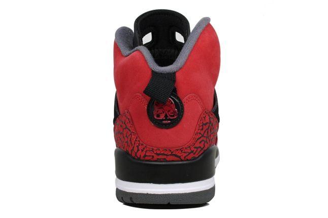 Jordan Spizike Bulls Heels 1