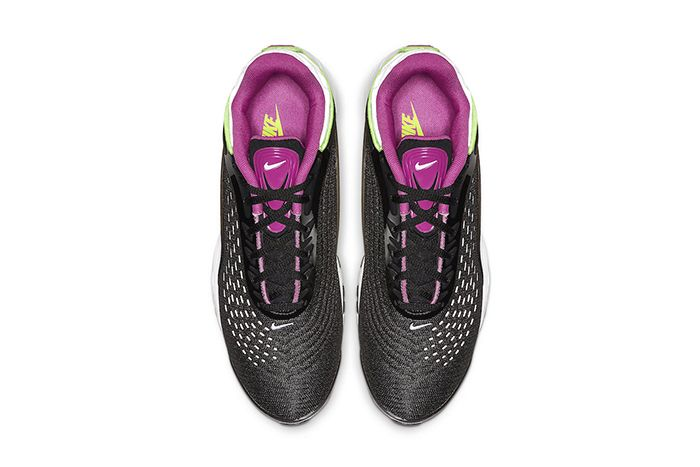 Nike Air Max Deluxe Black Pink Volt White Aj7831 005 Release Date Top Down