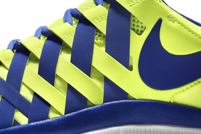 Nike Free Trainer 5 0 Volt Neon Midfoot Detail 1