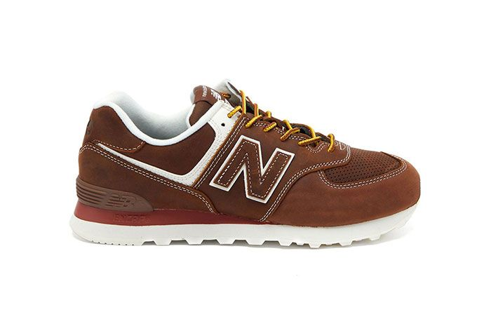 Junya Watanabe New Balance 574 Brown Lateral