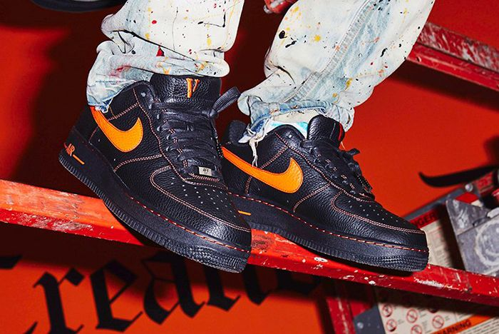 Vlone X Nike Air Force 17