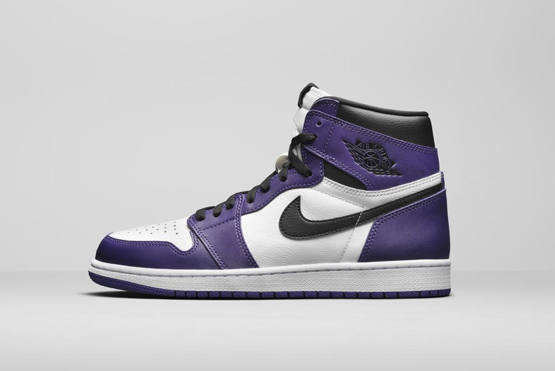Jordan Brand Summer 2020 Air Jordan 1 Court Purple Lateral