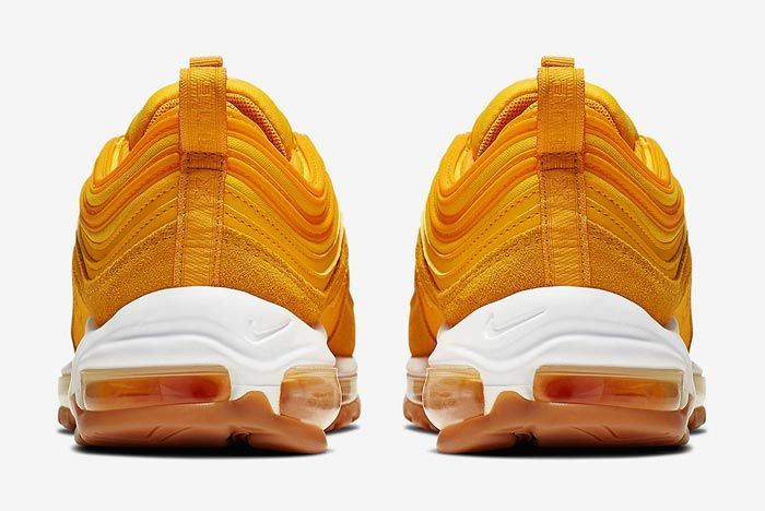 Nike Air Max 97 Womens Double Gold Heels