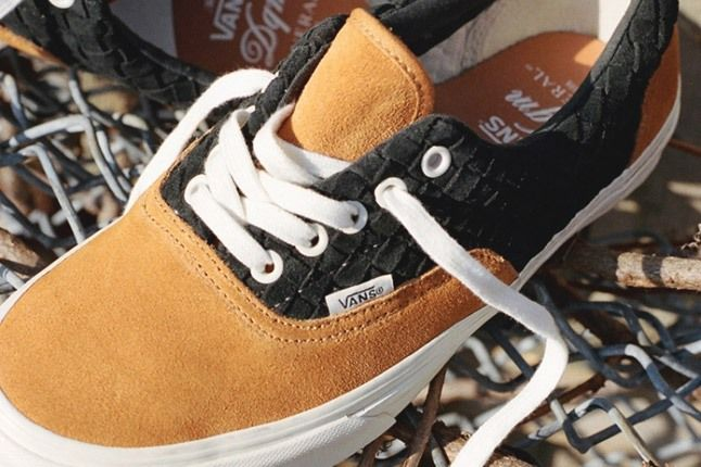 Dqm For Vans Wovens Collection Sk8 Hi Holiday 2012 Laces 1