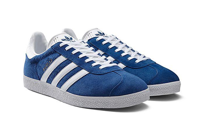 Adidas Gazelle Vintage Suede Core Blue 1