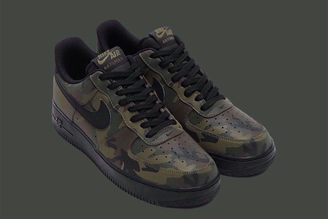 Nike Air Force 1 Camo Reflective 5