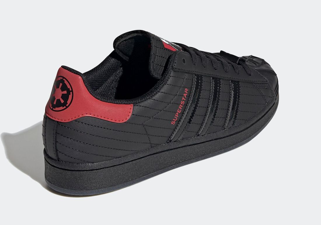 Star Wars adidas Super Star Darth Vader Heel