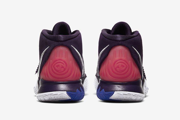 Nike Kyrie 6 Grand Purple Heels