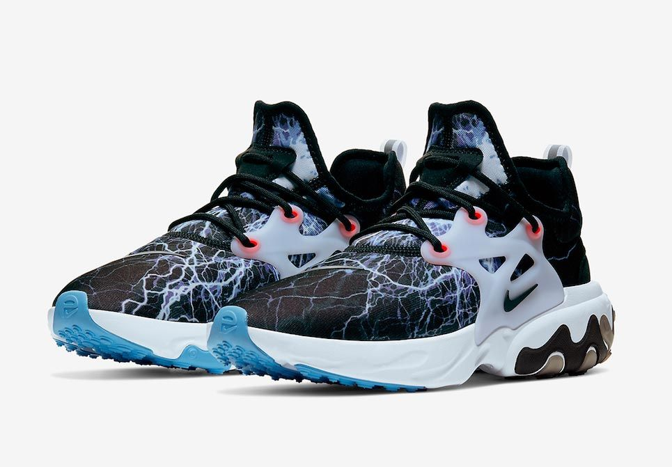 Nike React Presto Trouble At Home Three Quarter Shot