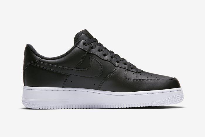 Nike Air Force 1 Low Black White Medial