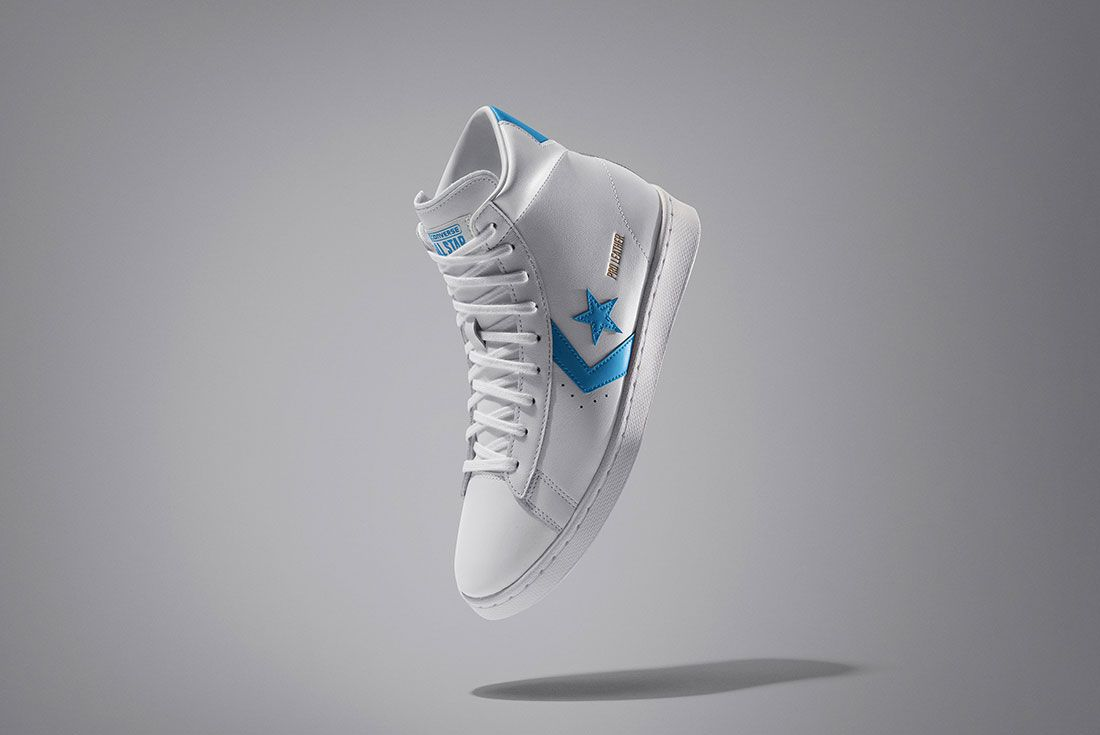 Nike News Nbaall Star2020 Converse Pro Leather High Top 1 Blue V1 93605 Official Reveal