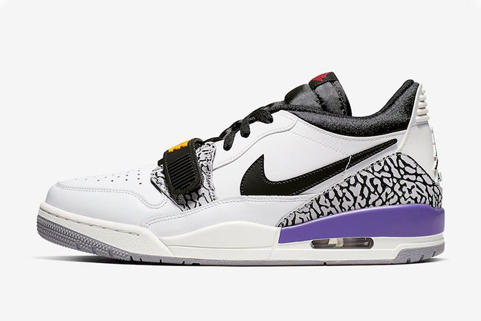 Jordan Legacy 312 Low Lakers Left