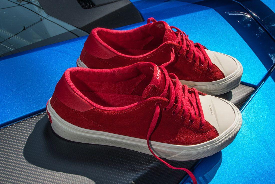 Ben Baller Red Suede Sneaker Freaker14