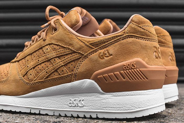 Asics Gel Respector Tan Clay Suede 3