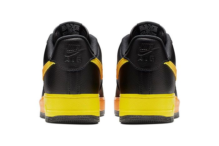 Nike Air Force 1 07 Lv8 Yellow Heel