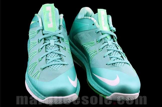 Nike Lbj X Teal Front 1