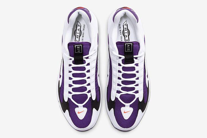 Nike Triax 2 White Purple Top