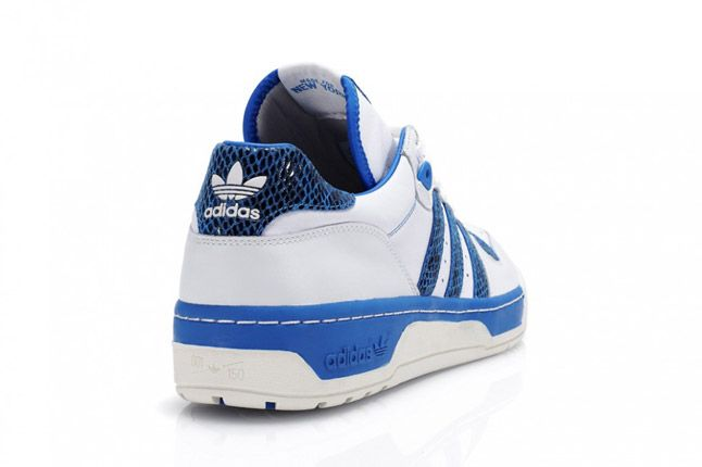 Blue Adidas Rivalry Lo Limited Edition Quater Back 1