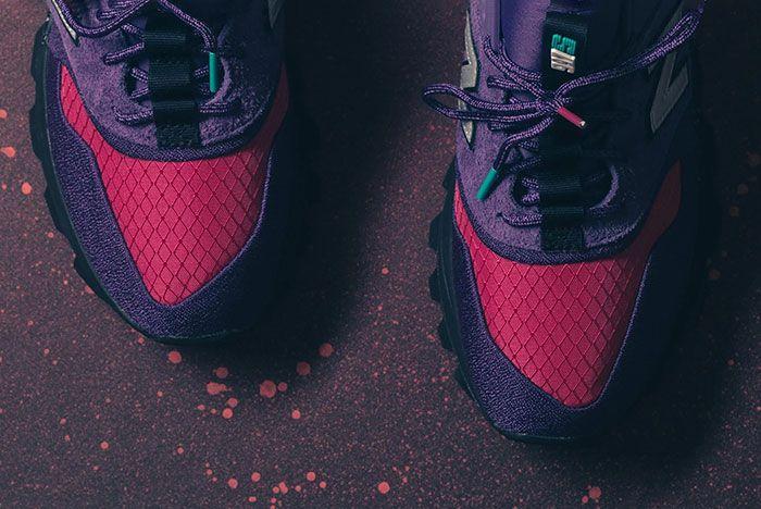 New Balance 997S Cordura Purple Pink Turquiose 1 Toe
