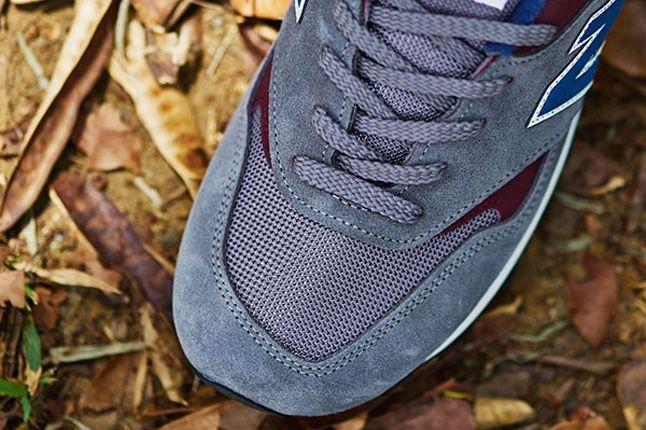 New Balance 577 Grey Toebox Detail 1