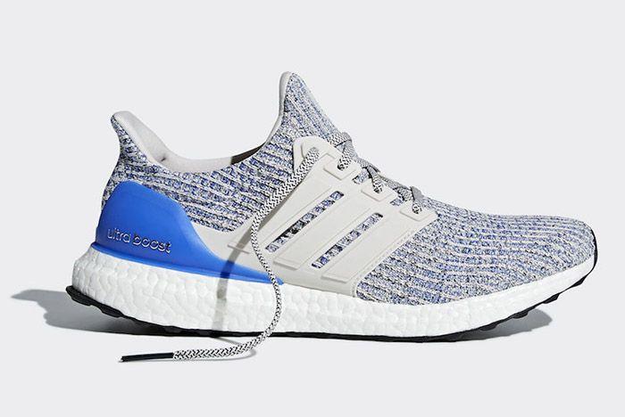1 Adidas Ultra Boost Blue Heel Release Date Sneaker Freaker