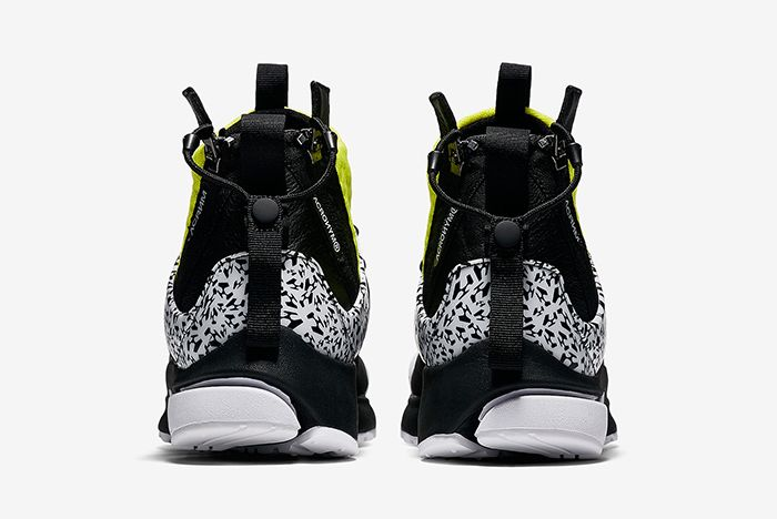 Acronym Nike Air Presto Mid Dynamic Yellow Cool Grey 5