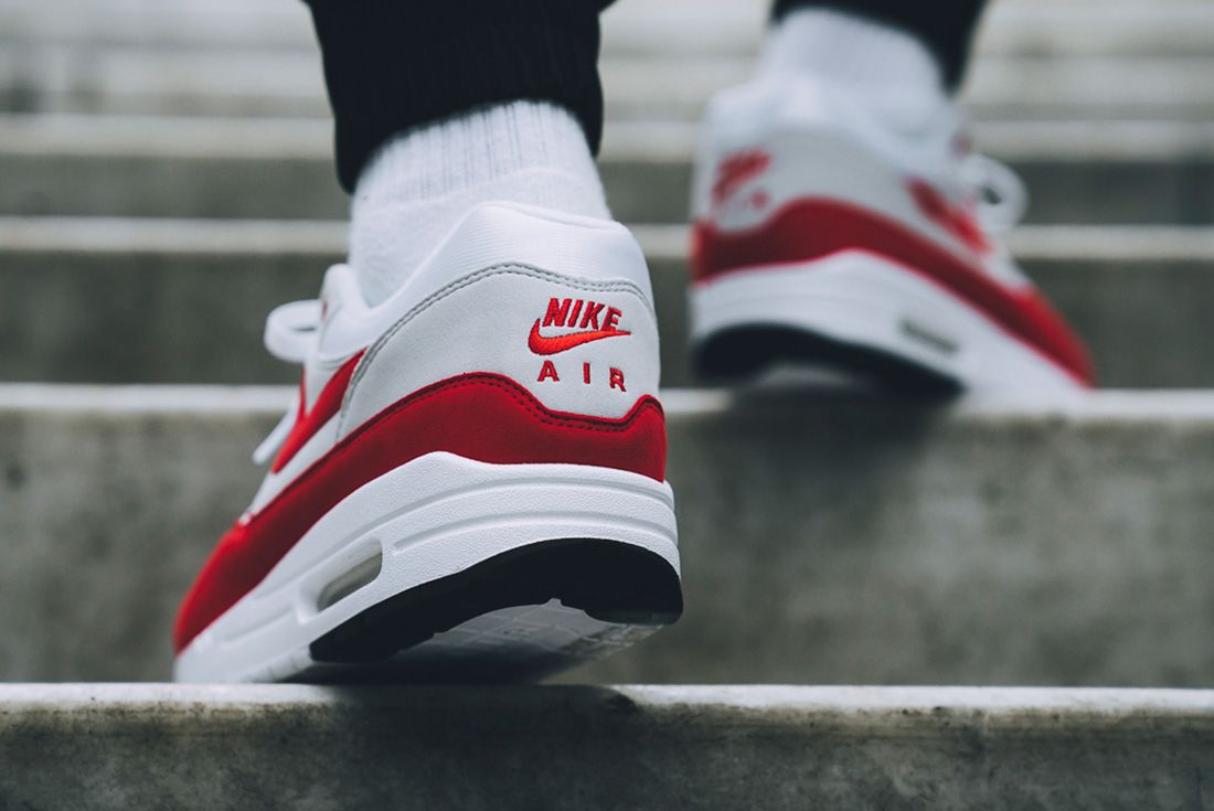 Nike Air Max 1 Red University Red 9
