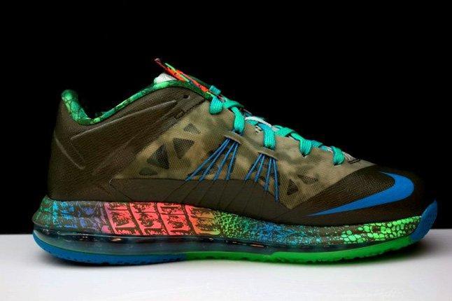 Nike Lebron X Low Tarp Green 9