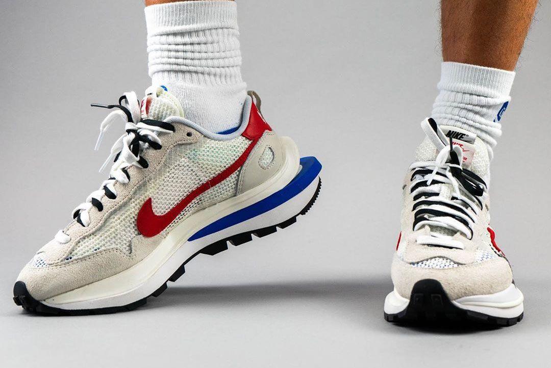 sacai x Nike VaporWaffle 'Sail/Game Royal'