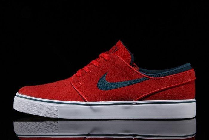 Nike SB Air Zoom Stefan Janoski (University Red) - Sneaker Freaker
