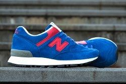 New Balance 576 Wmns Make In Uk Royal Red Hype Dc 4