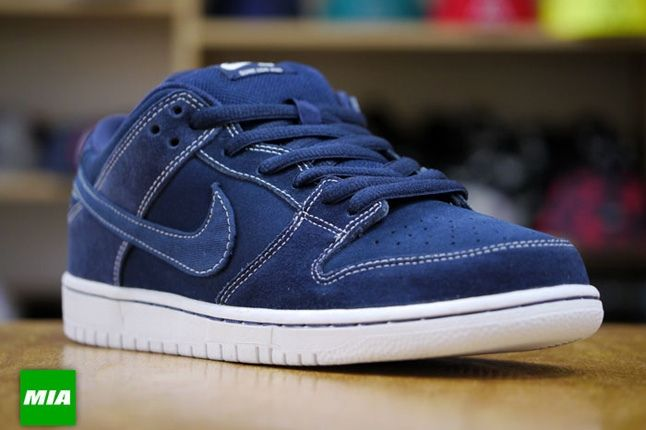 Nike Sb Dunk Low Pro Midnight Navy 4