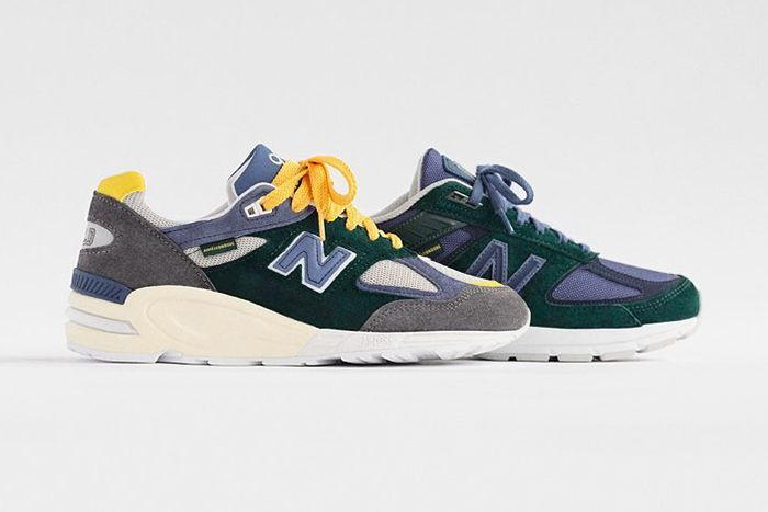Aime Leon Dore New Balance 990V2 990V5 Release Date Lateral