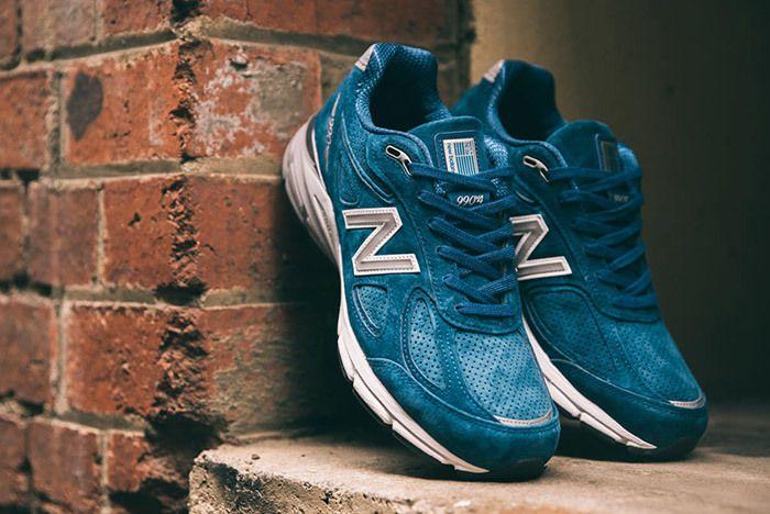 New Balance 990 V4 North Sea Blue 1